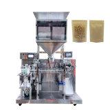 2 cabeças de pesagem Linear Sal Automática açúcar // Sementes de arroz Doypack máquina de embalagem