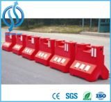 Le trafic de barrière de sécurité routière en plastique