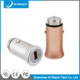 Chargeur d'universel de téléphone mobile de véhicule de l'alliage d'aluminium DC5V/3.1A USB
