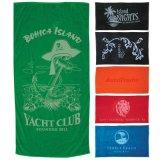 Tovagliolo Premium personalizzato promozionale di forma fisica della fabbrica della Cina in un sacchetto della maglia