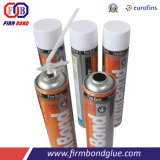 A Cola química espuma de PU para instalação de portas e janelas