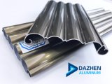 PROFIL-Rollen-Blendenverschluß des kundenspezifischen des Aluminium-6063 Strangpresßling-T5 Aluminium