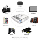 TV 3D HD portátil multimédia Android WiFi DLP 4K Pico Projector de Cinema