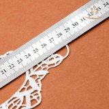 衣服のアクセサリカラーレースの伸縮性があるかぎ針編みファブリックレース