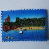 Magnete turistico del ricordo di Polyresin del magnete su ordinazione del frigorifero da vendere