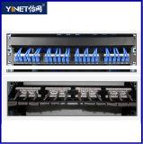 Alta qualidade portuária do painel de correção de programa do painel de correção de programa UTP de Cat5e 24 Unshielded (HSC-2055212-24)