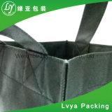 주문 도매는 초음파 열 - 밀봉한 비 길쌈한 끈달린 가방을 착색한다