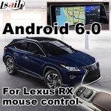 Interfaccia del sistema di percorso di GPS del Android 6.0 video per Lexus 2011-2017 Nx ecc