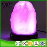 Hand geschnitzte natürliche rosafarbene Himalajasalz-Lampe mit USB