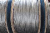 Conducteur d'aluminium ACSR renforcé d'acier