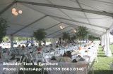 井戸は500人のための結婚披露宴のテントを飾った