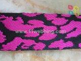 Correas del telar jacquar de la impresión del leopardo para el bolso, ropa, ropa, zapatos, equipaje, ornamento, accesorios pendientes
