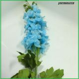 Delphinium falso de seda de las flores artificiales para la decoración casera de la boda