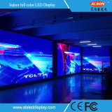Parete dell'interno curva creativa del video di colore completo LED di P3.91 RGB