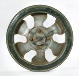 Orologio di parete rotondo del metallo della bicicletta per la decorazione domestica