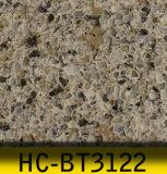 pedra artificial de quartzo da cor do complexo de 3200X1600mm para a superfície contínua