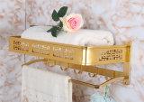 Bt099 новых алюминиевых свет золотой полотенце шельфа