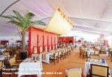 barraca do partido da extensão do espaço livre de 20X50m para o evento do casamento