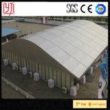 Grande tente incurvée d'entrepôt de tente avec imperméable à l'eau