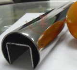 Una buena venta de pasamanos de escalera de tubo de acero con cristal