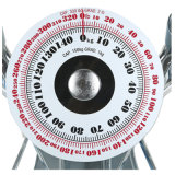 150 kg Sqare de cristal dial grande escala del hogar analógica