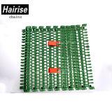 Линия упаковки пояс Hairise транспортера Rised модульный с ISO