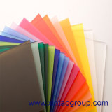Цветастый акриловый лист/пластичный лист для рекламы