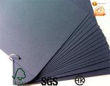 80 G 110 die GSM het Zwarte Gerecycleerde Karton Zwarte Dongguan van het Karton Document Zwart Document verpakken