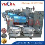 Prensa de óleo de semente com parafuso comestível automática de produção comercial da China