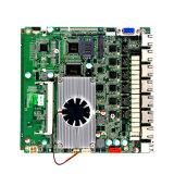 6 материнская плата материнской платы RJ45 Port J1900 LAN Port Mainboard 6 миниая с VGA и поддержанное WiFi