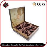 Het UV Bronzende Verpakkende Vakje van de Gift van het Document van de Rechthoek voor Schoonheidsmiddel