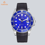 Дешевые индивидуальные моды мужчин смотреть резиновый силиконовый браслет часы с логотипом OEM 72521