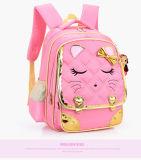 Bolso de escuela lindo al por mayor del niño de la muchacha de la mariposa modificado para requisitos particulares
