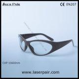 gafas de seguridad de laser del CO2 10600nm con alta densidad óptica y gran transmitencia
