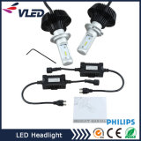 Kit H4 9004 del faro dell'automobile dell'automobile LED Headilght LED di alto potere di Fanless H7 9007 H13 P Hilips o E Dison LED