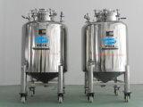 Tanque de armazenamento líquido SUS304 de aço inoxidável com polimento de espelho