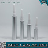 Silver Plastic Cosmetic Airless Eye Creme Spray Bottle Eye Cream Tube