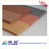 Decking ao ar livre composto da boa qualidade/composto plástico de madeira