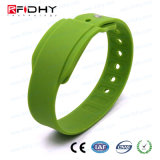 Wristband Minitag sem contato com impressão personalizada para evento esportivo