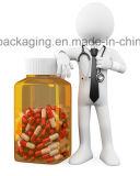 Recipiente di plastica della capsula della medicina dell'animale domestico