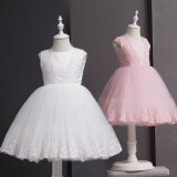 Princesse Dress Costumes de blanc de robe d'enfants