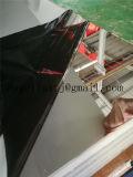 Zpss 316L 1500*3000mm Decoratief Blad van het Roestvrij staal van de Spiegel met de Dubbele Film van pvc