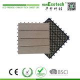 Telha composta de madeira de bloqueio da plataforma da base plástica DIY