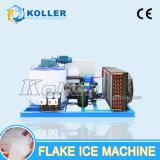 Pequena Capacidade 500kg venda quente máquina de flocos de gelo com bandeja de gelo