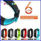 Afficheur OLED intelligent de la pression artérielle Moniteur de fréquence cardiaque Bracelet