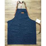 Рисбермы бармена изготовленный на заказ высокого качества фабрики голубые для штанги с кожаный планкой