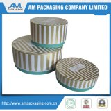 Dongguan embalaje cajas redondas Whalesale caja de espuma para la flor preservada