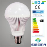 Bulbo Emergency 7W 9W de la salvaguardia de batería recargable del LED