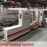 Línea recta de la carpeta de la máquina Gluer Caja de cartón ondulado (SCM-2200B)
