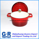 鋳鉄のカセロールの台所鍋